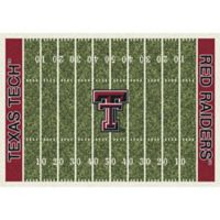 Texas Tech University 3-Foot 10-Inch x 5-Foot 4-Inch Small Home Field Rug