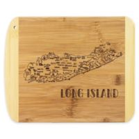 Totally Bamboo® Long Island Slice of Life Destination Cutting/Serving Board