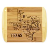 Totally Bamboo® Texas Slice of Life Destination Cutting/Serving Board