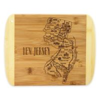 Totally Bamboo® New Jersey Slice of Life Destination Cutting/Serving Board