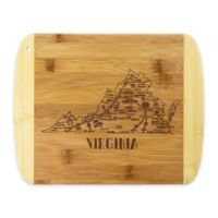 Totally Bamboo® Virginia Slice of Life Destination Cutting/Serving Board
