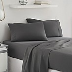 UGG® Sunwashed Deep-Pocket Twin XL Sheet Set in Charcoal