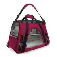 OxGord Large Soft Sided Dog/Cat Carrier in Hot Pink