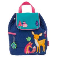 Stephen Joseph® Woodland Quilted Backpack in Blue