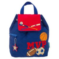 Stephen Joseph® Sports MVP Quilted Backpack in Blue