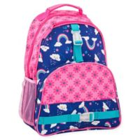 Stephen Joseph® Rainbow Print Backpack in Pink