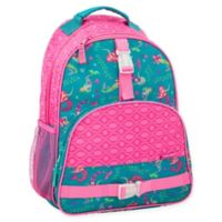Stephen Joseph® Rainbow Print Backpack in Pink/Teal