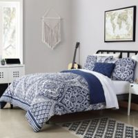 VCNY Home Tori Twin XL Comforter Set in Navy
