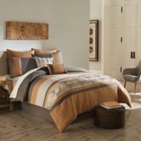 Diamante 8-Piece Queen Comforter Set in Gold