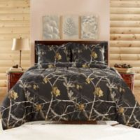 Realtree® Brights Twin Comforter Set in Black