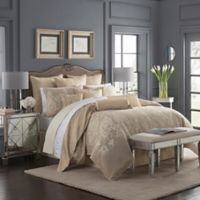 Waterford® Abrielle Reversible Queen Comforter Set in Champagne