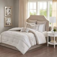 Ramsey 8-Piece Queen Comforter Set in Neutral