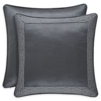 J. Queen New York™ Rigoletto European Pillow Sham in Charcoal