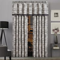 J.Queen New York™ Brandon 84-Inch Rod Pocket Window Curtain Panel Pair in Graphite