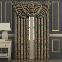 J. Queen New York™ Montgomery 84-Inch Rod Pocket Window Curtain Panel Pair in Emerald