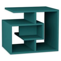 Ada Home Decor Briscoe Modern Side Table in Turquoise