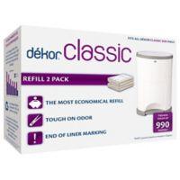 Diaper Dekor Diaper Disposal System Refills (2-Pack)