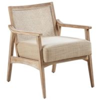 Ink+ivy™ Rubberwood Upholstered Kelly Chair in Light Brown