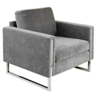 Ink+ivy™ Wood Upholstered Madden Chair in Grey