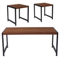 Flash Furniture Grove Hill 3-Piece Table Sets in Rustic