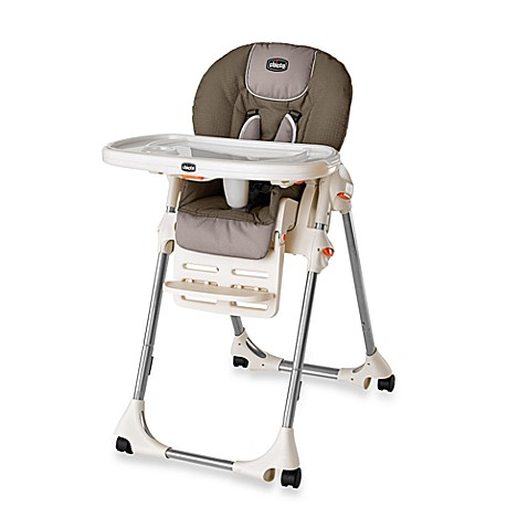 Chicco® Polly® SE High Chair Single-Pad In Chevron™