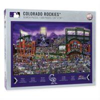 MLB Colorado Rockies 500-Piece Find Joe Journeyman Puzzle