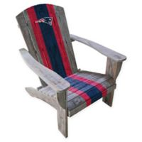 NFL New England Patriots Wooden Adirondack Chair