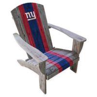 NFL New York Giants Wooden Adirondack Chair