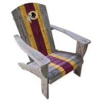 NFL Washington Redskins Wooden Adirondack Chair
