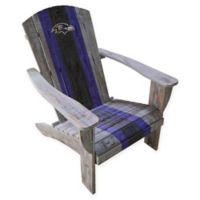 NFL Baltimore Ravens Wooden Adirondack Chair