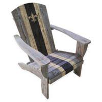 NFL New Orleans Saints Wooden Adirondack Chair