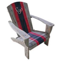 NFL Houston Texans Wooden Adirondack Chair