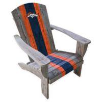 NFL Denver Broncos Wooden Adirondack Chair