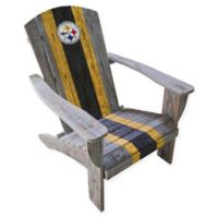 NFL Pittsburgh Steelers Wooden Adirondack Chair