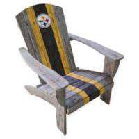 NFL Pittsburgh Steelers Wooden Adirondack Chair