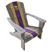 NFL Minnesota Vikings Wooden Adirondack Chair
