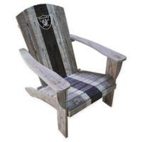 NFL Oakland Raiders Wooden Adirondack Chair