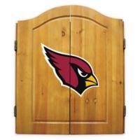 NFL Arizona Cardinals Dartboard and Cabinet Set