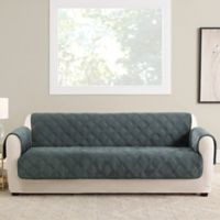 Sure Fit® Triple Protection Sofa Cover in Teal