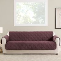 Sure Fit® Triple Protection Sofa Cover in Mulberry