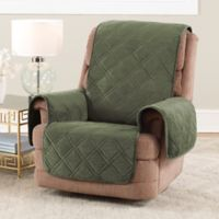 Sure Fit® Triple Protection Recliner Cover in Olive