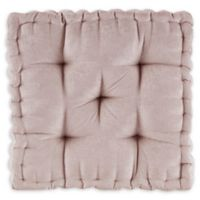 Intelligent Design Azza Square Floor Cushion in Beige