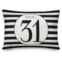 Designs Direct Halloween October 31st Oblong Pillow