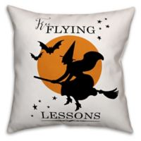 Designs Direct Halloween Free Flying Lessons Pillow