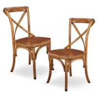 Harbor House™ Heritage Dining Chairs in Brown (Set of 2)