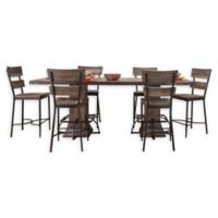 Hillsdale Furniture Jennings 7-Piece Rectangular Counter-Height Dining Set with Stools