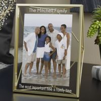 Family Forever 5-Inch x 7-Inch Prisma Picture Frame