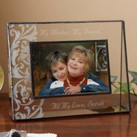 My Mother, My Friend 4-Inch x 6-Inch Glass Picture Frame