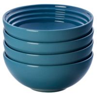 Le Creuset® Soup/Cereal Bowls in Marine (Set of 4)