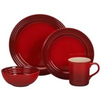 Le Creuset® 16-Piece Dinnerware Set in Cerise